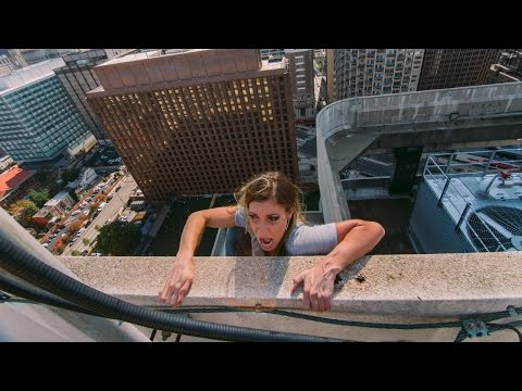 Thumbnail: FALLING OFF 350 FOOT ROOF!!!