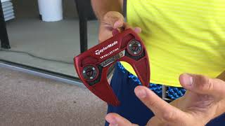 Karl's new TaylorMade Ardmore2 Putter
