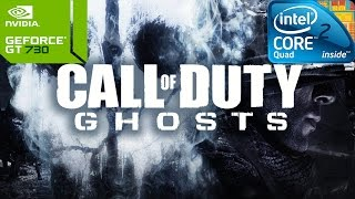 Call of Duty: Ghosts on Intel Core 2 Quad Q8400 & Nvidia GT730