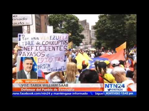 Defensor del Pueblo de Venezuela le responde a Santos sobre denunciar militarización ante la ONU