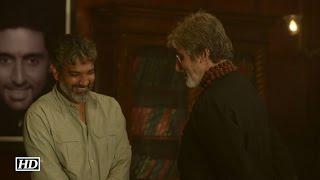 WhatAMoment- BIGGEST Director S S Rajamouli meets BIG B Amitabh Bachchan