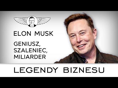 Elon Musk. Jak myśli iczego chce jeden znajbogatszych ludzi naświecie?