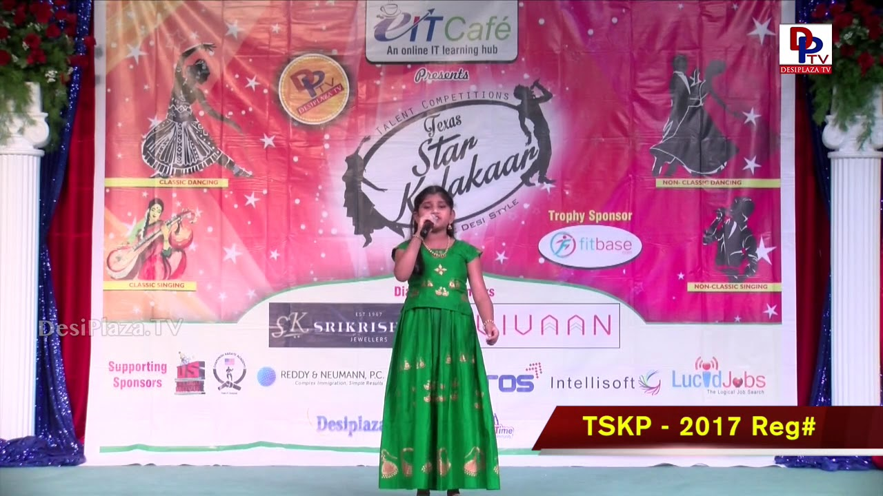 Finals Performance - Reg# TSK2017PXXX - Texas Star Kalakaar 2017