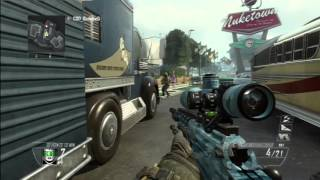 """QUICK SCOPE 1v1 ANGRY SQUEAKER RAGE! """"I WANT A REMATCH!"""" (Part 1) Black Ops 2"""
