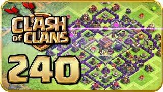 Let's Play CLASH of CLANS Part 240: NEUES DORFLAYOUT für RH Level 8!