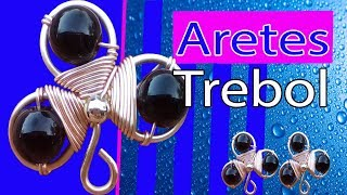 earrings trebol
