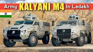 Indian Army New Kalyani M4 In Ladakh | Kalyani M4 Orders