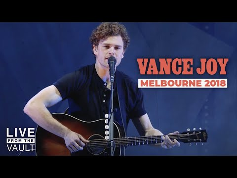 Vance Joy - Live at Rod Laver Arena in Melbourne 2018 | Live From The Vault