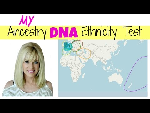 My Ancestry DNA Ethnicity Test Results!