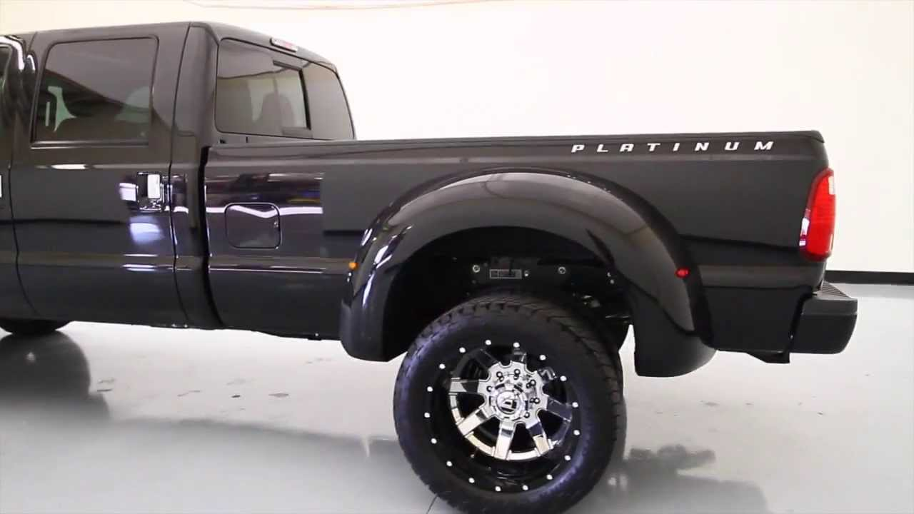 2013 ford super duty f 350 platinum custom lifted truck
