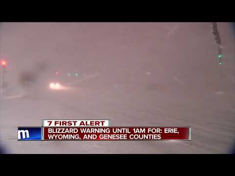 Live in Cheektowaga: State of Emergency in Erie County