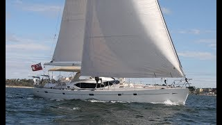 Oyster 655 RESTLESS Sailing and Interior Walkthrough
