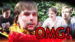 5 JONGENS VS. GHOST PEPPER!!!