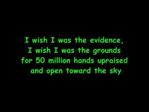 pearl jam - wish list with lyrics