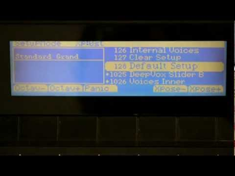 17 Kurzweil PC3 Series: Setup Mode Editor