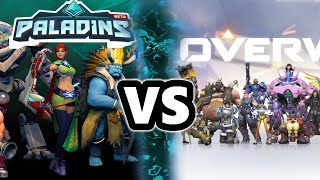 Paladins Champions of the Realm an Overwatch Clone?
