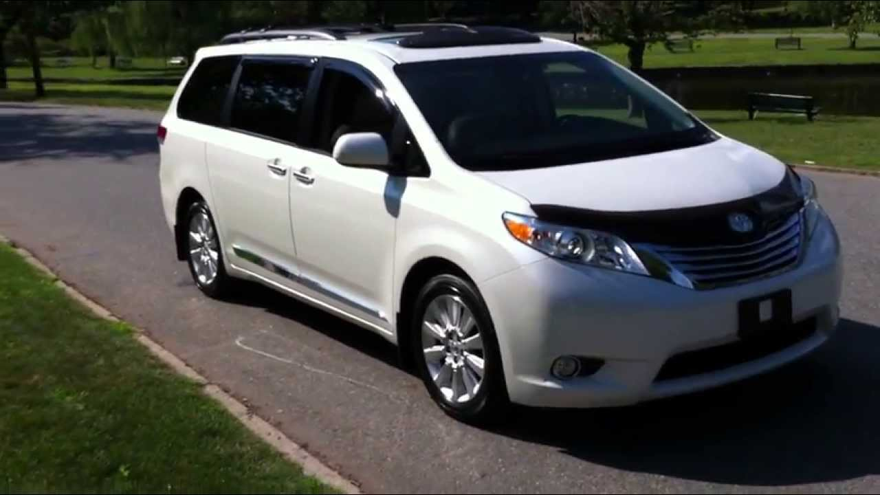2011 Toyota Sienna Limited Awd Youtube