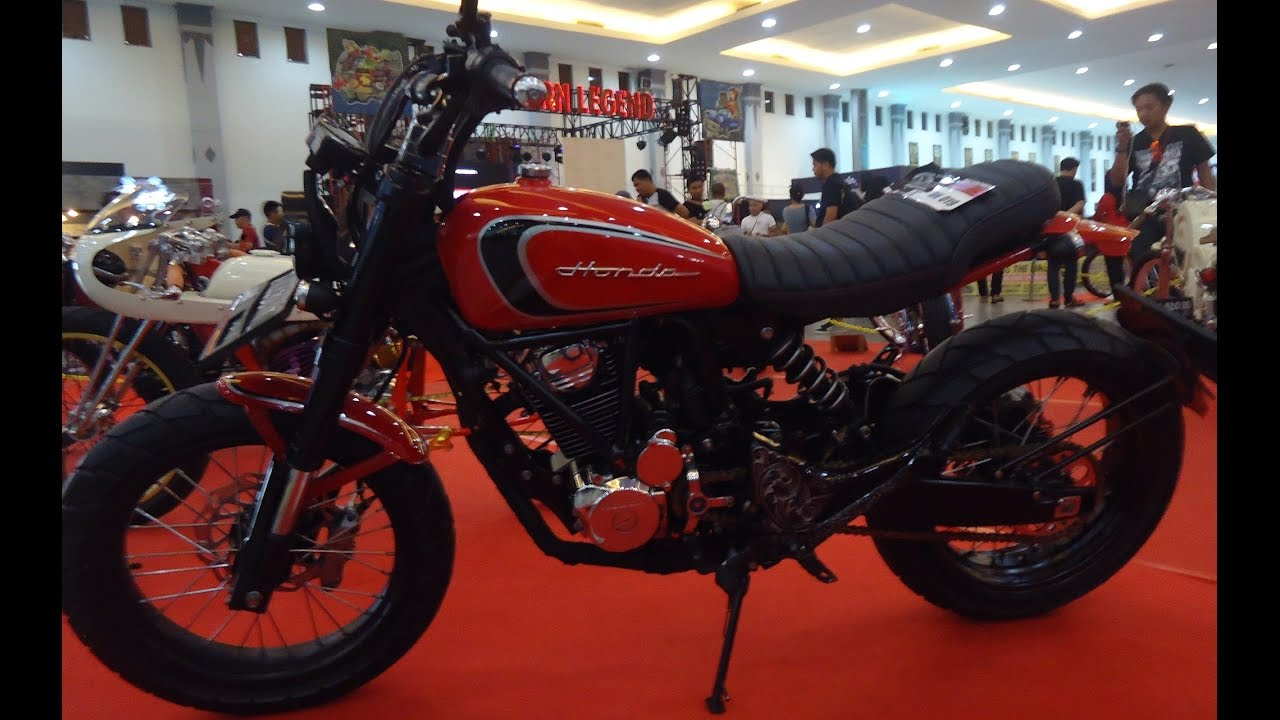 Modifikasi Bratstyle Honda Tiger Japstyle Custom YouTube