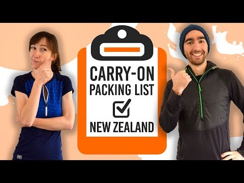 What To Pack In Your Carry-On For New Zealand: New Zealand Carry-On Packing List