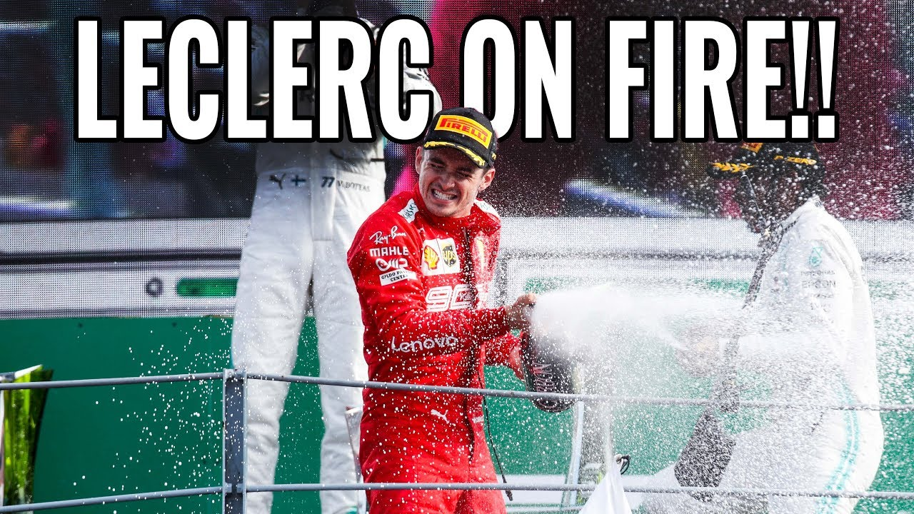 LECLERC MAKING HISTORY IN MONZA! | ITALIAN GRAND PRIX HIGHLIGHTS | RACEVLOG