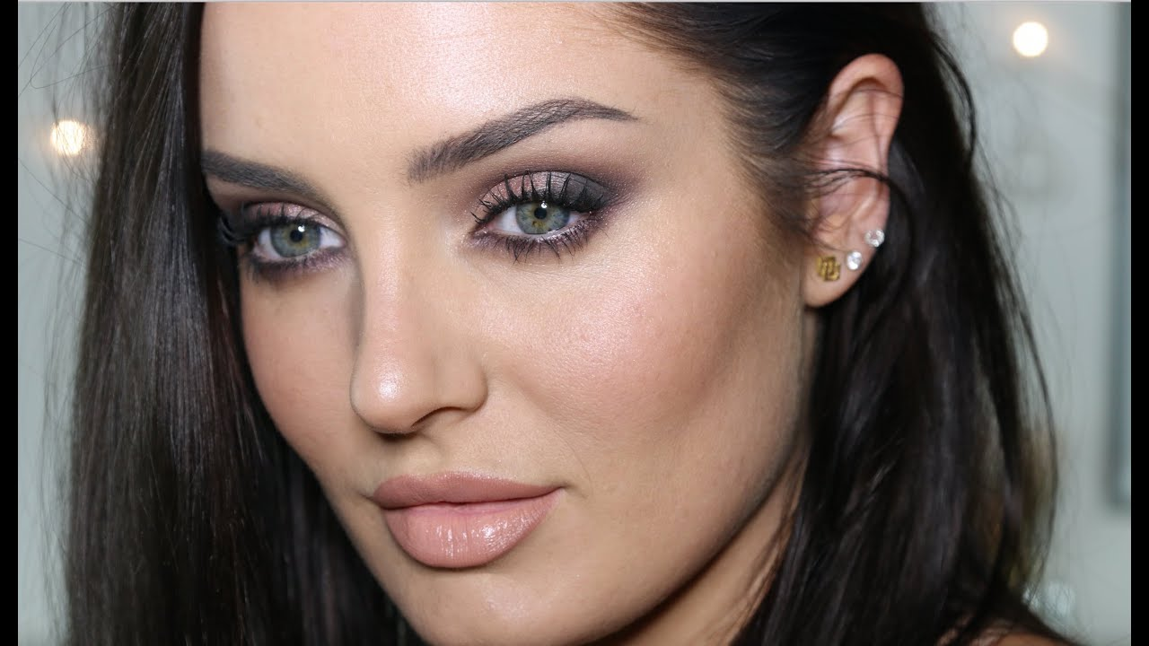 Easy Neutral Glam With NO False Lashes! Makeup Tutorial - YouTube