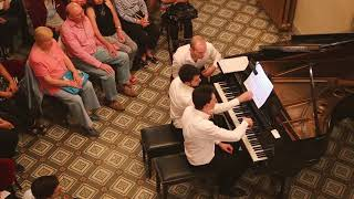 """Sonata para piano a cuatro manos, FP 8"" Francis Poulenc"