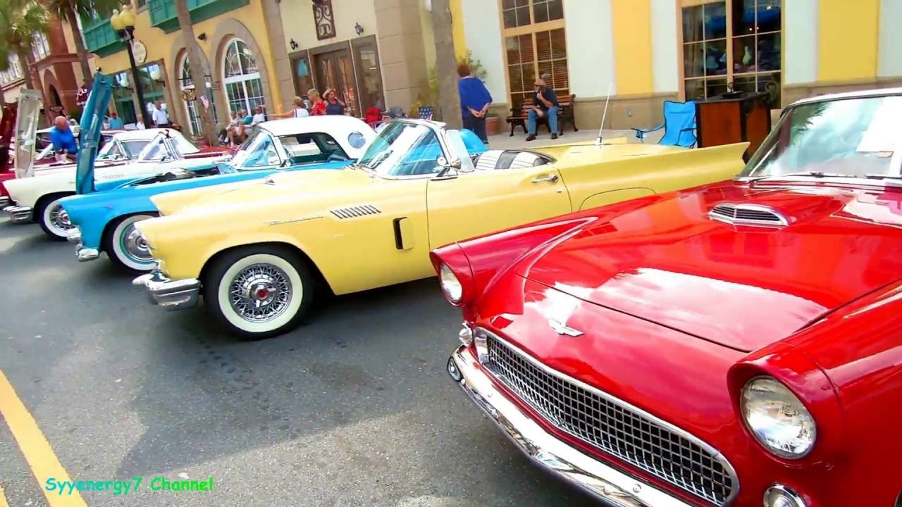 1950 s ford thunderbird alley