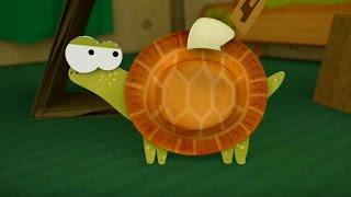 Бумажки - А был ли птенчик? -  мультфильм для детей - поделки своими руками