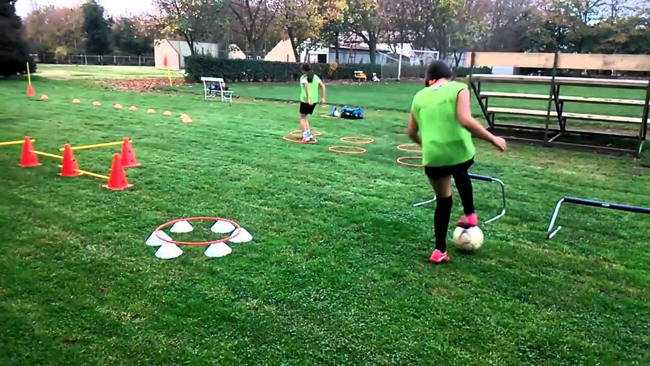 Fútbol Femenino Entrenamiento Físico Técnico 2 - YouTube 52b476690a631