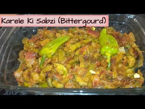 Karele Ki Sabzi (Bittergourd without Bitterness) Cook with Desi Tarka