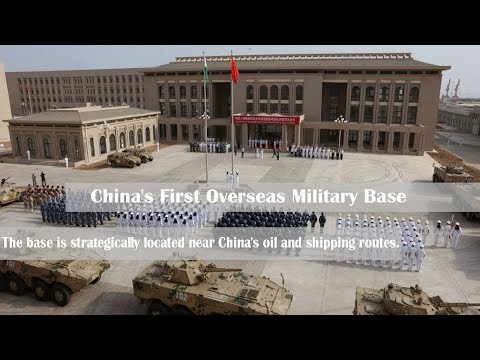 Satellite Images Spy China's First Overseas Military Base