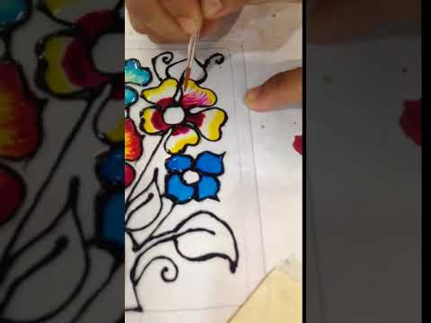 Craft Class Glass Painting