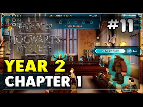 YEAR 2 AND THE MISSING STUDENT!?!?!? - HARRY POTTER: HOGWARTS MYSTERY MOBILE RPG