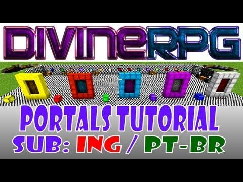 Make Portal / Criar Portais (Help/Tutorial) ~ Divine RPG Minecraft Mod ~ SUB [ING][PT-BR]