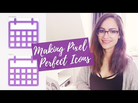 Pixel-perfect icons for web design – tutorial | CharliMarieTV