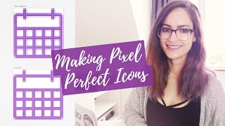 Pixel-perfect icons for web design - tutorial   CharliMarieTV