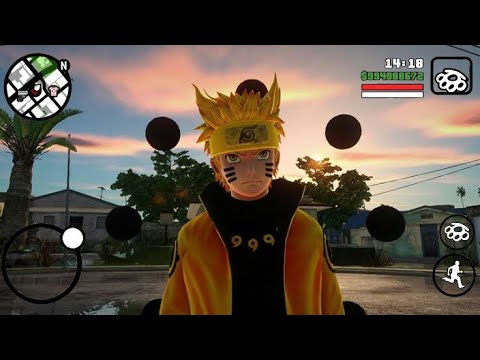 GTA SA Full MOD Naruto Di Desa KONOHA
