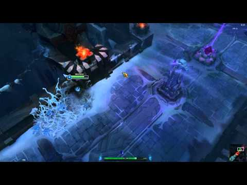 PBE - Howling Abyss - A quick preview of the new ARAM Map