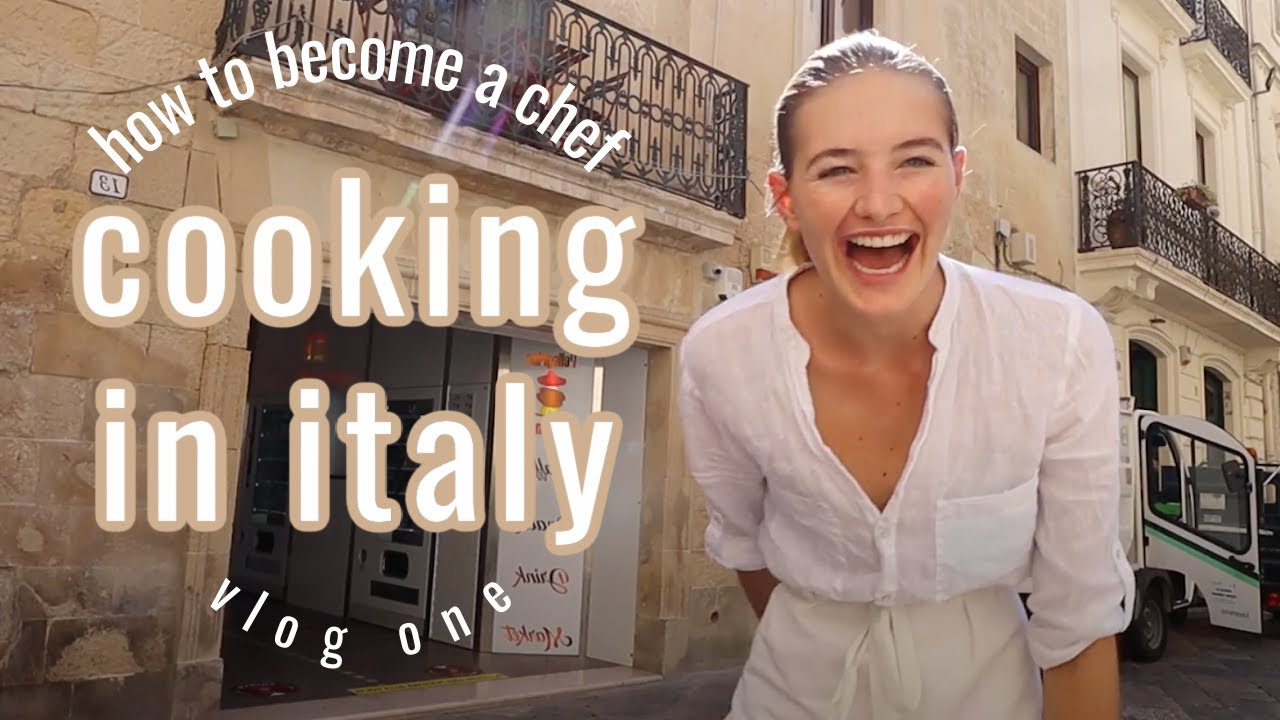 Trading the catwalk for the kitchen // Cooking in Italy vlog 1