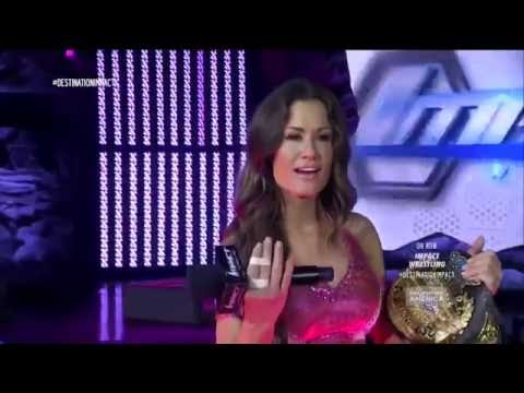 (720pHD): iMPACT Wrestling 07.22.15: Taryn Terrell, The Dollhouse, Brooke & Gail Kim