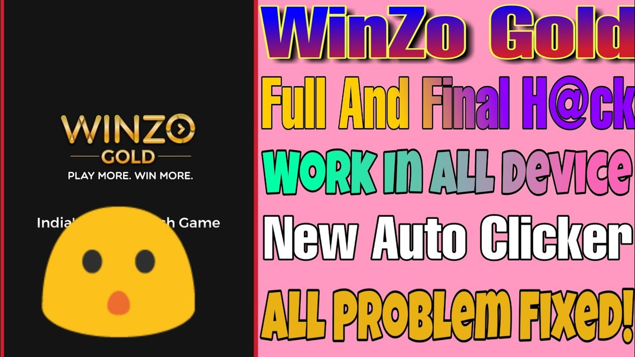 WinZo Gold Full And Final H@ck Trick For All Devices | WinZo Gold Final H@ck Tricks | TrickySK