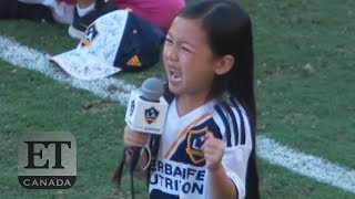 7-Year-Old Malea Emma's Stunning Anthem