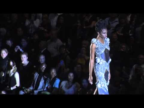 Couture fashion show at Cleveland Museum of Art