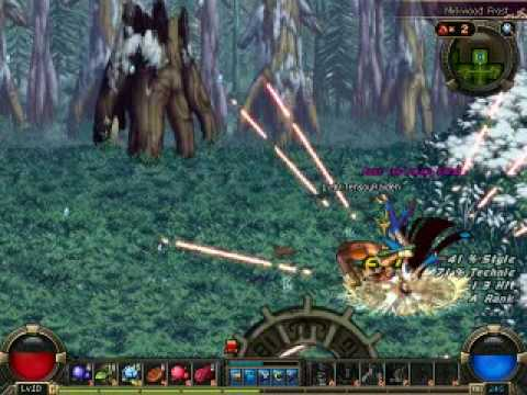 Dfo Closed Beta Ice Witch Boss Normal Youtube