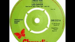 Leo Sayer - When I Need You