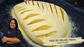 Pão de Milho Fácil e Delicioso – Passo a Passo Completo