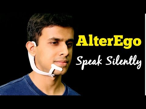 """AlterEgo - MIT's Computer system transcribes words users """"speak silently"""""""