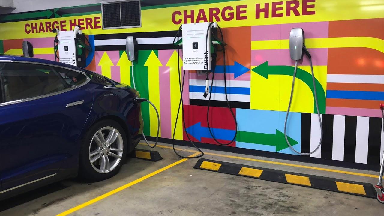 Tesla 3-Phase Charging IKEA Homebush Bay Sydney ...