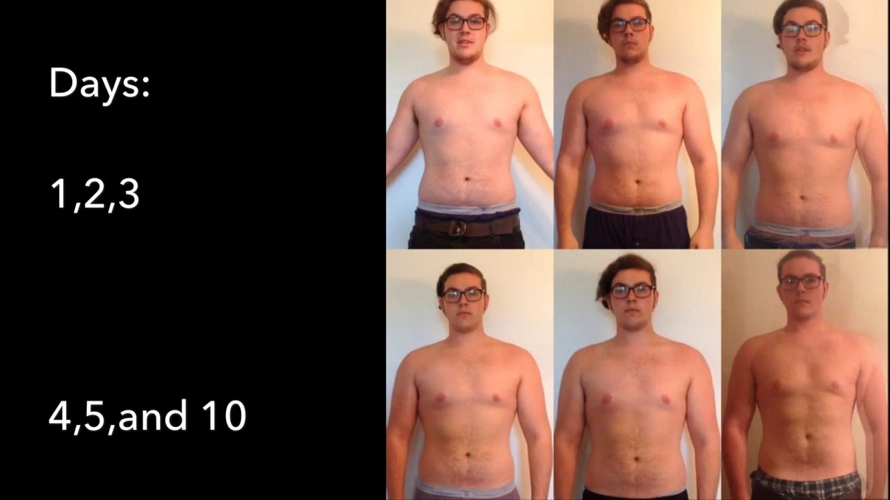 My 10 Day Water Fast Results Amazing Weight Loss Results 20lbs Lost Its Finally Over