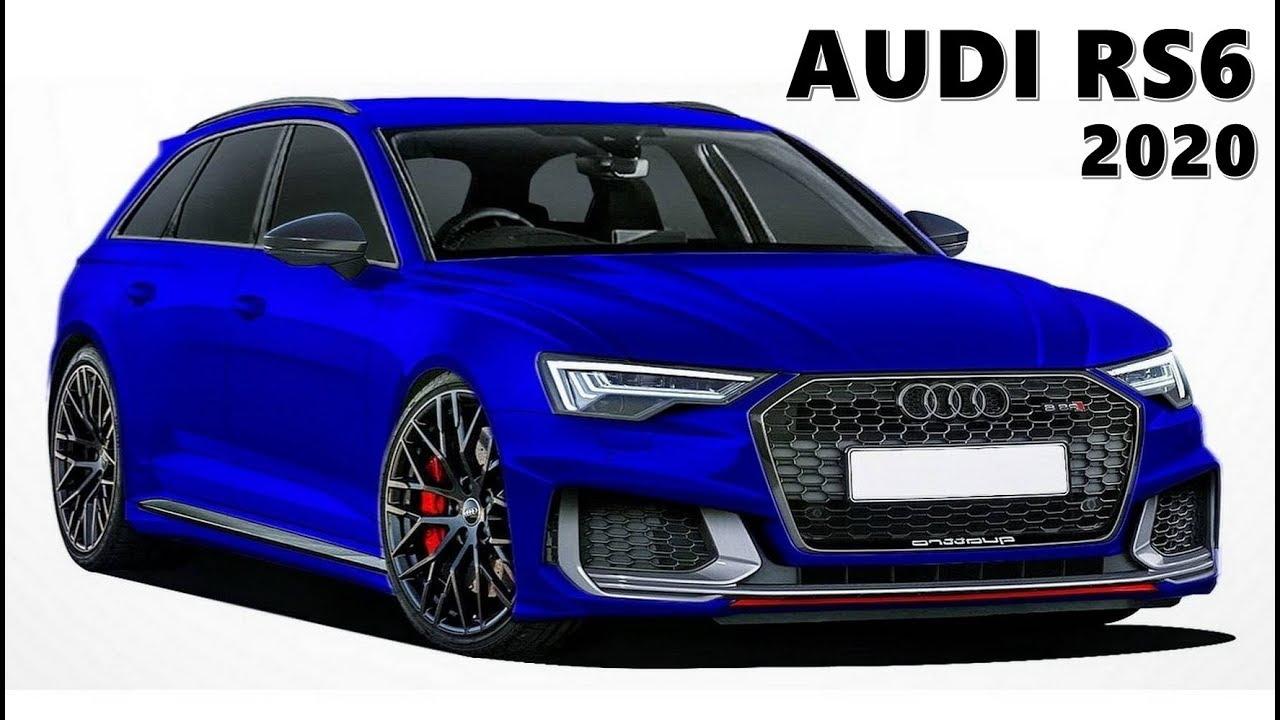 2020 Audi Rs6 A6 Avant Allroad Youtube